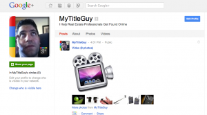 Google + Business Pages