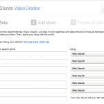 YouTube Search Stories